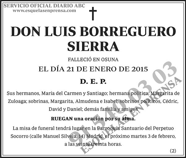 Luis Borreguero Sierra